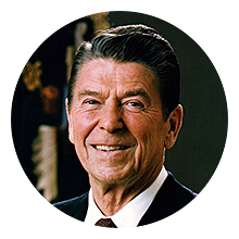 Ronald Reagan, 40th President of the United States